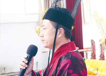 副总经理张兵主持典礼