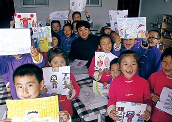 明珠国学 甜美童年 绘画