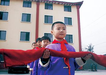 明珠国学 甜美童年 升国旗