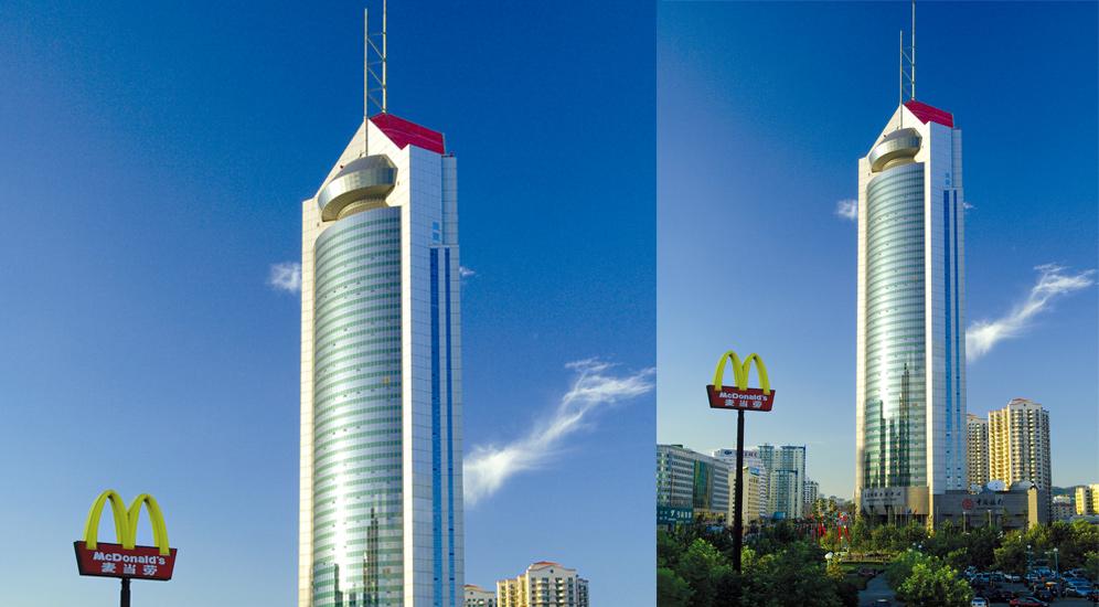 青岛国际金融中心(中银大夏)