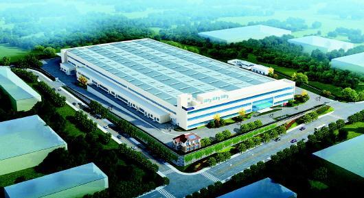 青岛海尔中德生态园太阳能新工厂项目