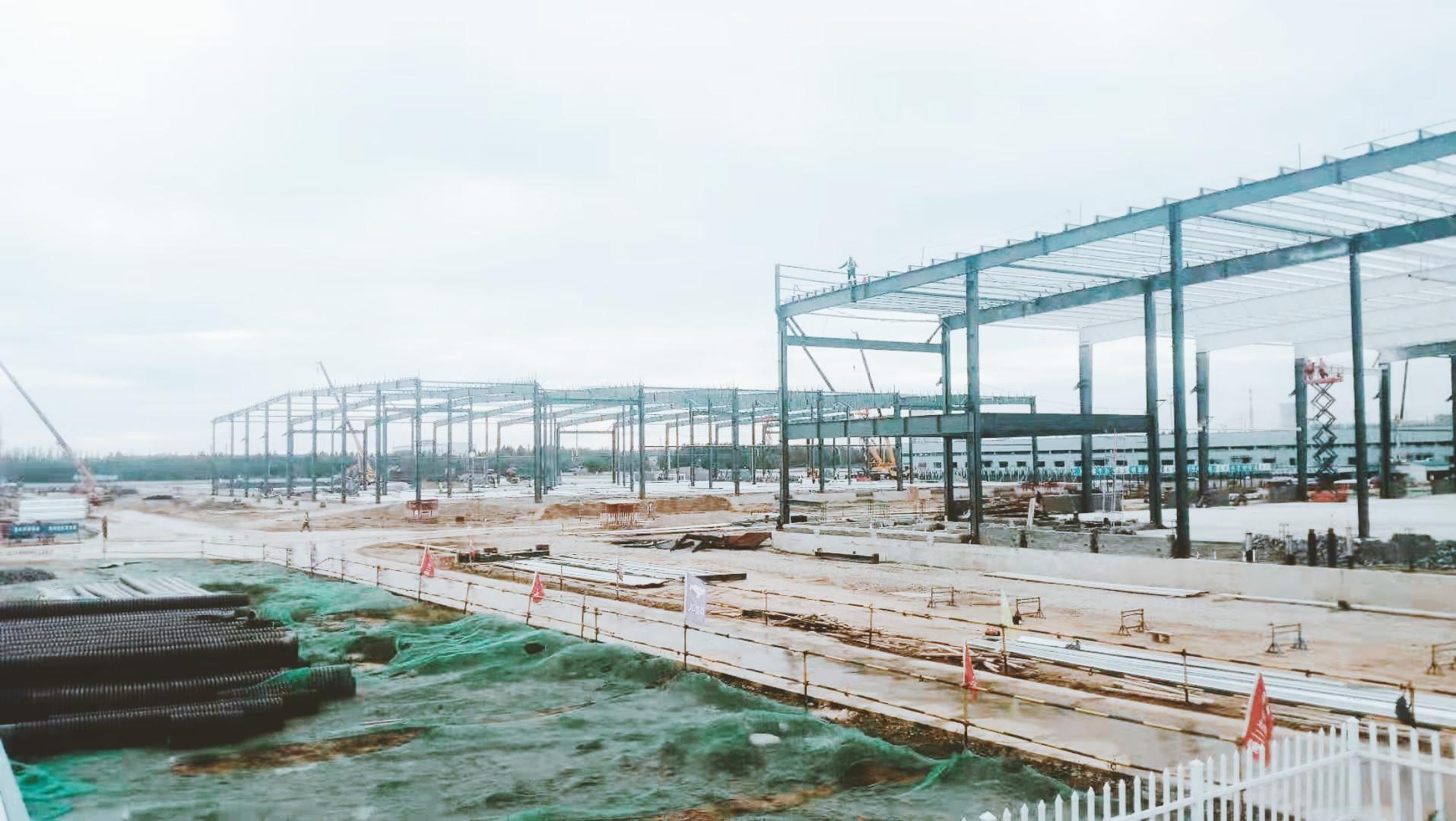 工地原来可以这么美——京东齐河物流园项目