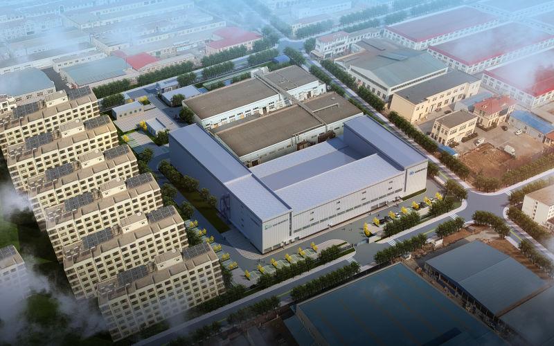 青岛海德包装第三工厂厂房